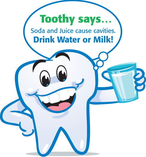 Toothy Says